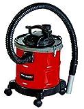 Einhell Aschesauger TC-AV 1620 DW (1.250 W, 165 mbar, 1,2 m Saugschlauch, 20 l Auffangbehälter + Schnellverschlüsse, Vor- und Faltenfilter, Blasfunktion, metallverstärkter Saugschlauch + Alusaugrohr)