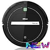 AIIBOT Saugroboter 4-Stufen-Reinigungssystem, leistungsstarke Absaugung, reinigt alle Hartböden und Teppich, leise, hervorragend für Tierhaare (T289-black)