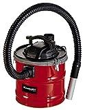 Einhell Aschesauger TC-AV 1618 D (1.200 W, 18 L-Auffangbehälter mit Schnellverschlüssen, Faltenfilter + Vorfilter, Blasfunktion, metallverstärkter Saugschlauch + Alu-Saugrohr)